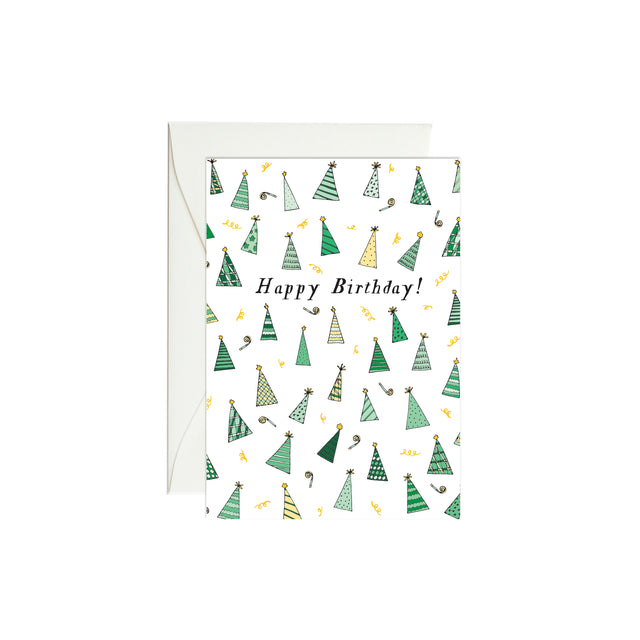 Birthday Hats Mini Enclosure Card