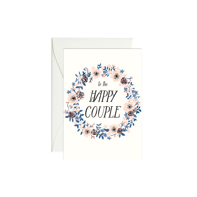 Wedding Wreath Mini Enclosure Card