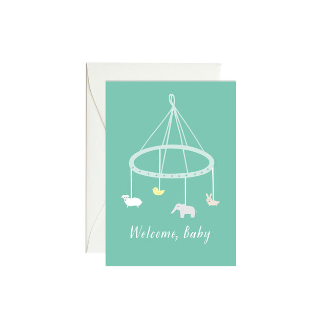 Baby Mobile Mini Enclosure Card