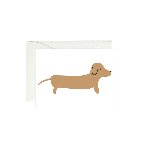 Dachshund Mini Enclosure Card