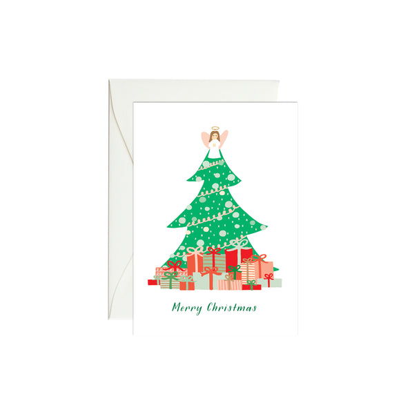 Christmas Tree Mini Enclosure Card