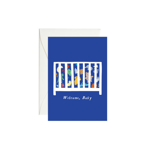 Baby Crib Mini Enclosure Card