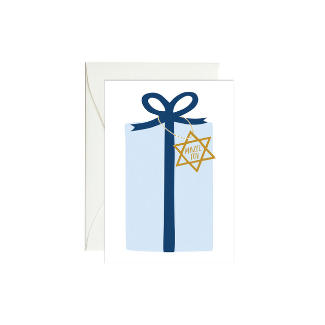 Mazel Tov Present Mini Enclosure Card