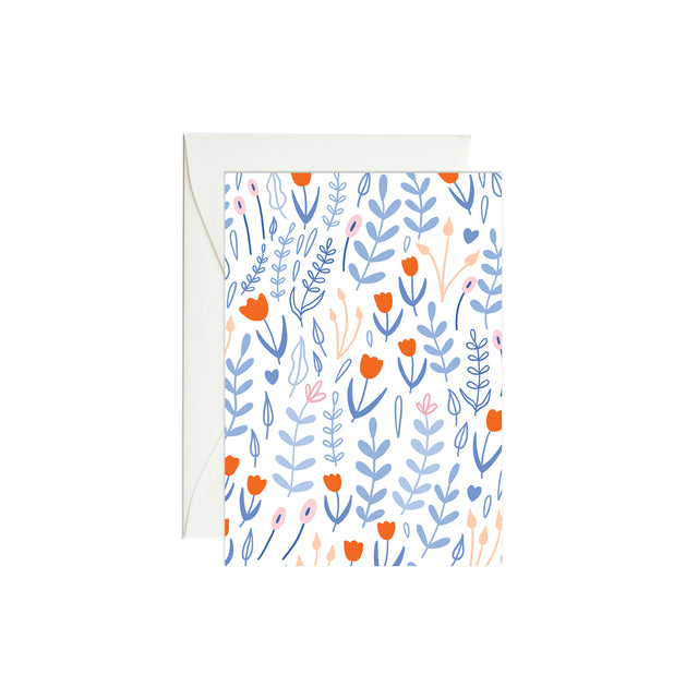 Tulip Garden Mini Enclosure Card