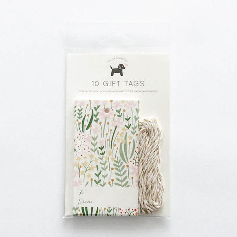 Garden Florals Gift Tags