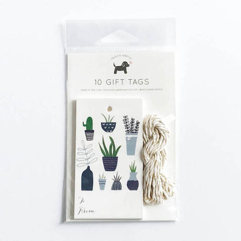 Plants Gift Tags