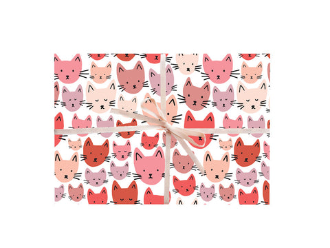 Cats Wrapping Sheets