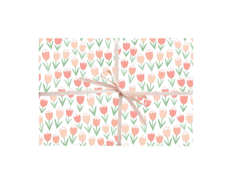 Tulips Wrapping Sheets