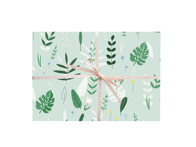 Botanical Wrapping Sheets
