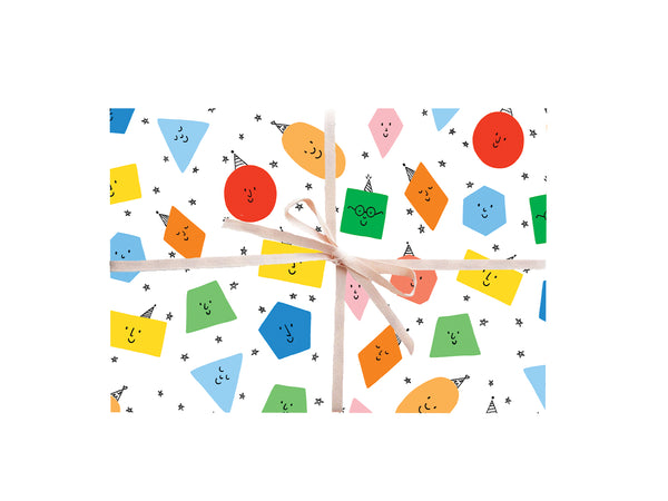 Colorful Shapes Wrapping Sheets