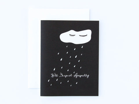Sympathy Cloud Card