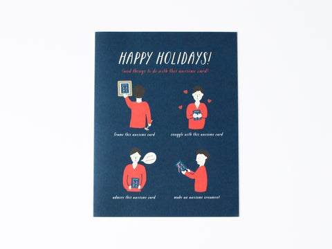 Awesome Holiday Card