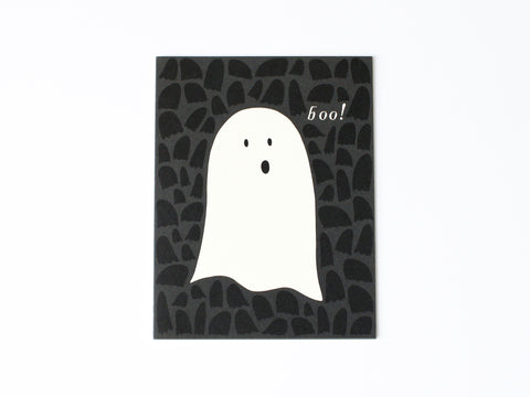 Spooky Ghost Card