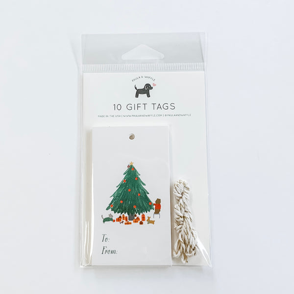 Forest Animals Christmas Gift Tags