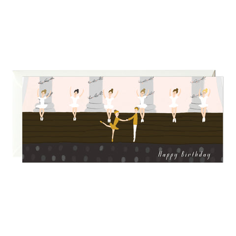 Ballet Birthday Card
