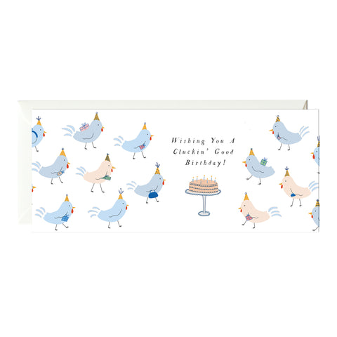 Party Chickens Birthday Card