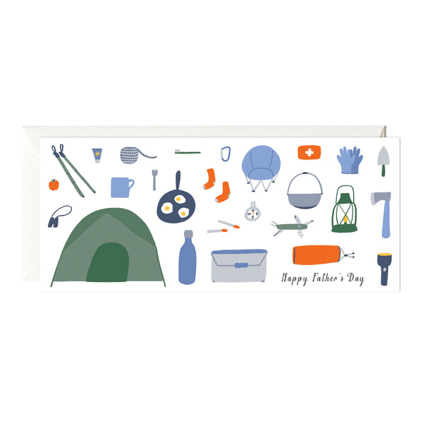 Father's Day Camping Gear Card