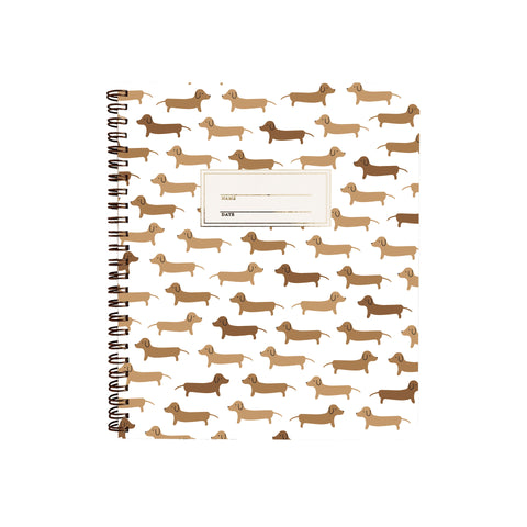 Dachshunds Notebook