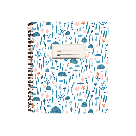 Coral Reef Ocean Notebook