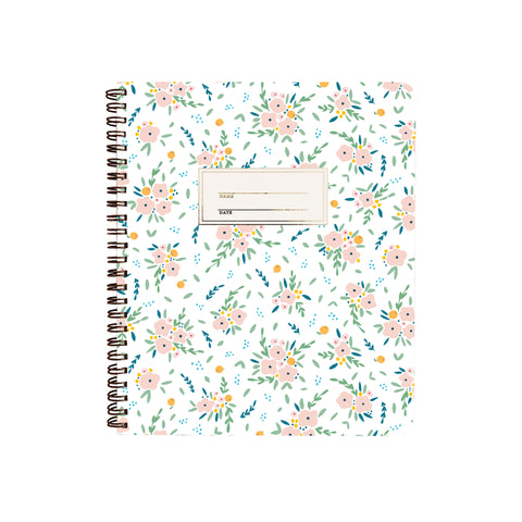 Floral Bouquets Notebook