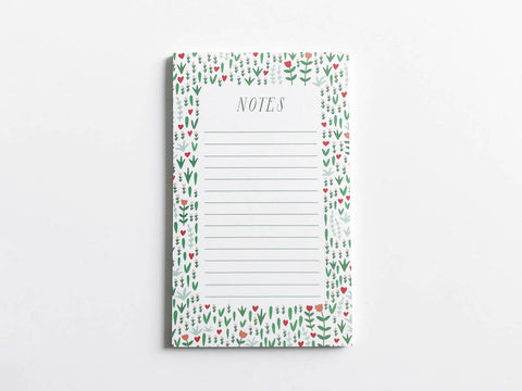 Bright Blooms Notepad