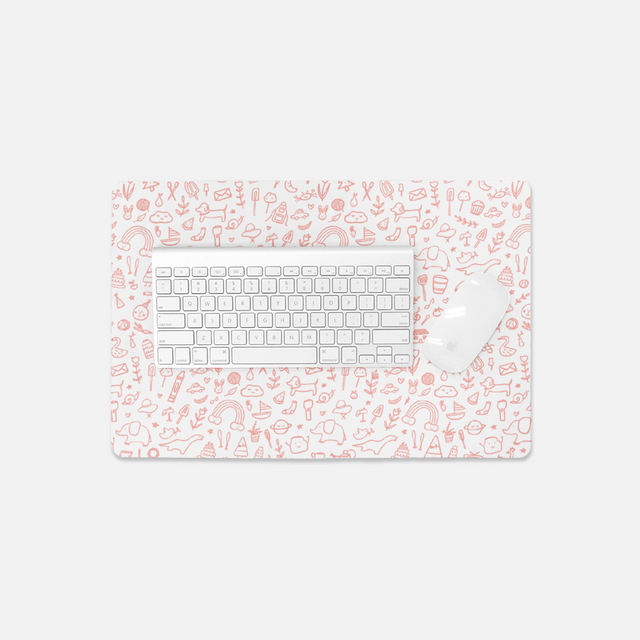 Favorite Things Small Desk Mat