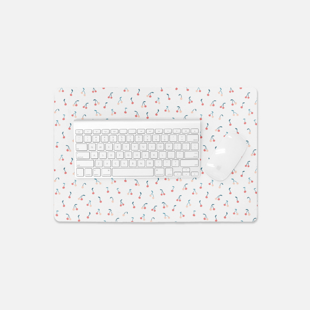 Cherries Small Desk Mat