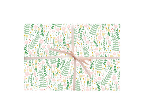 Garden Florals Wrapping Sheets