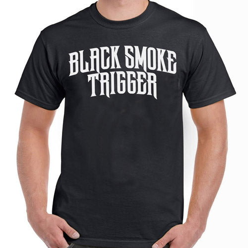 Black Smoke Trigger Logo T-Shirt