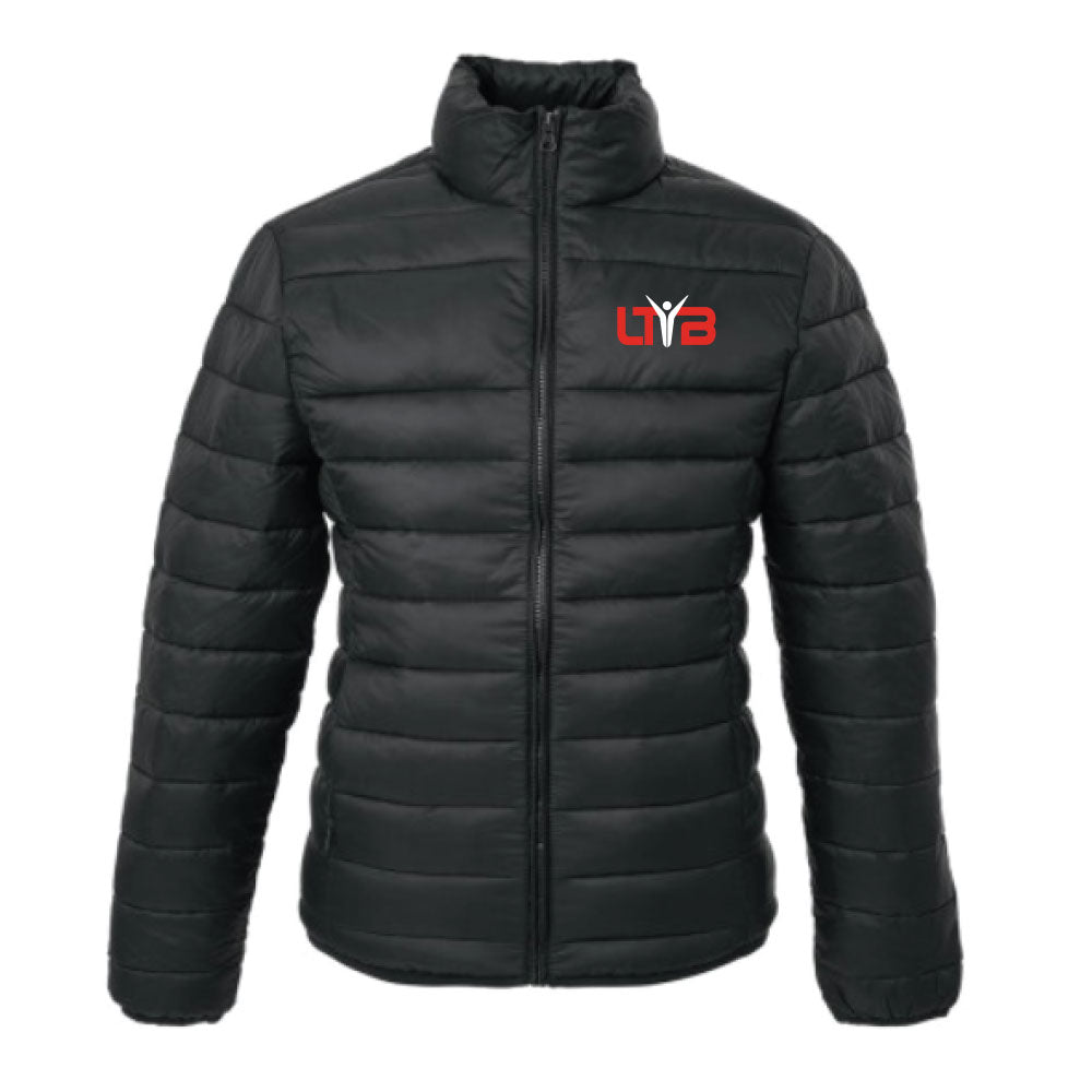 Men's Puffer Jacket - Black - LTYB Online Store
