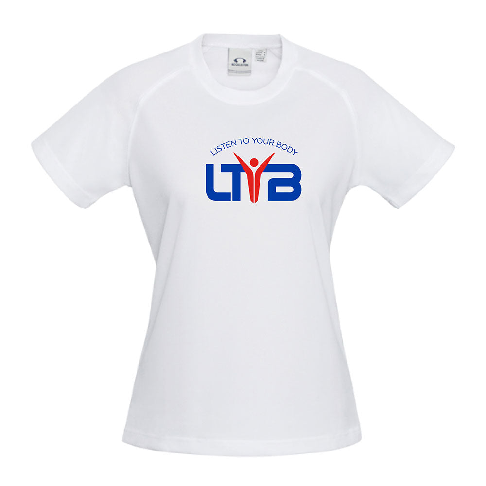 Men's CoolDry T-Shirt - White - LTYB Online Store