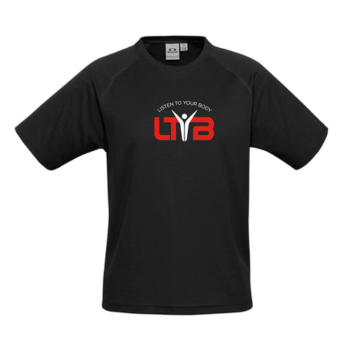 Men's CoolDry T-Shirt - Black - LTYB Online Store