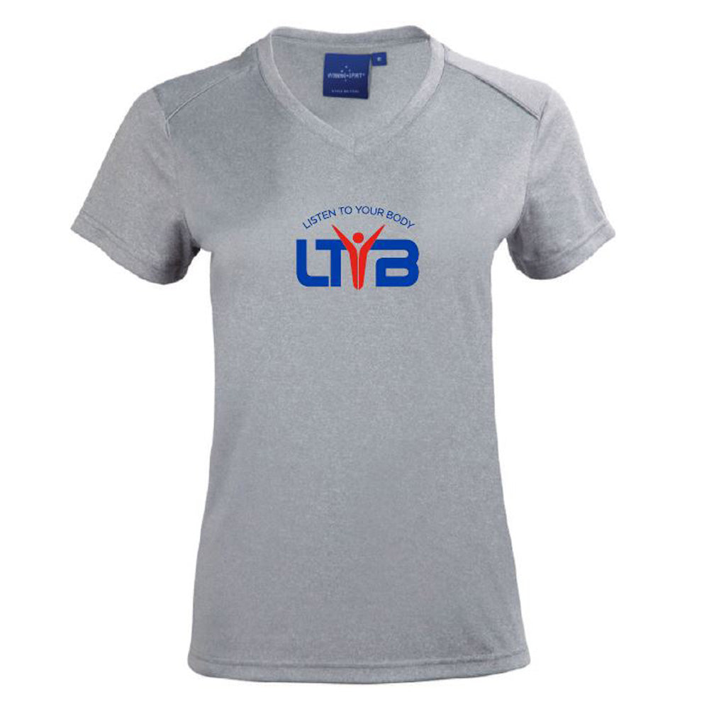 Ladies CoolDry T-Shirt - Grey - LTYB Online Store