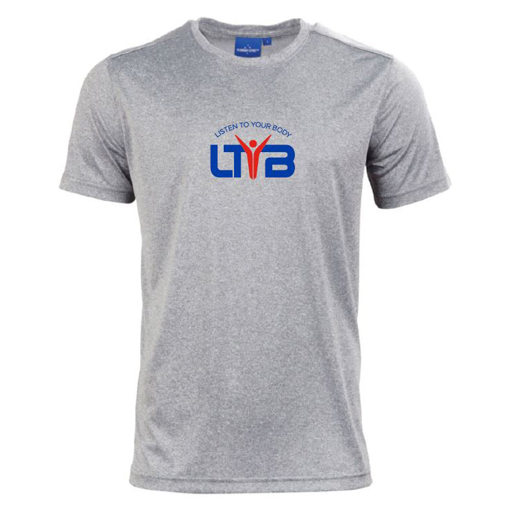 Men's CoolDry T-Shirt - Grey - LTYB Online Store