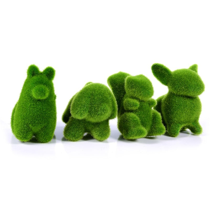 Artificial Turf Grass Animal Decoration