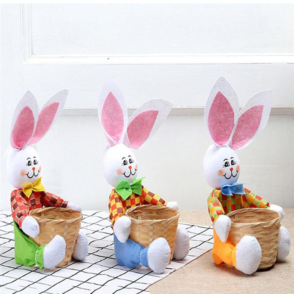 Mini Cute Cartoon Bunny Rabbit Easter Basket