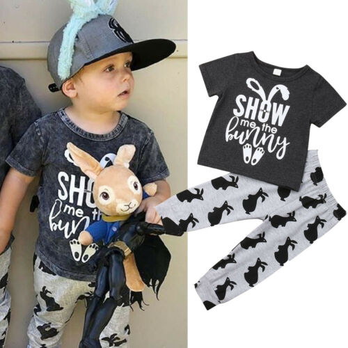 Show Me The Bunny Kids Outfit 2-6Yrs