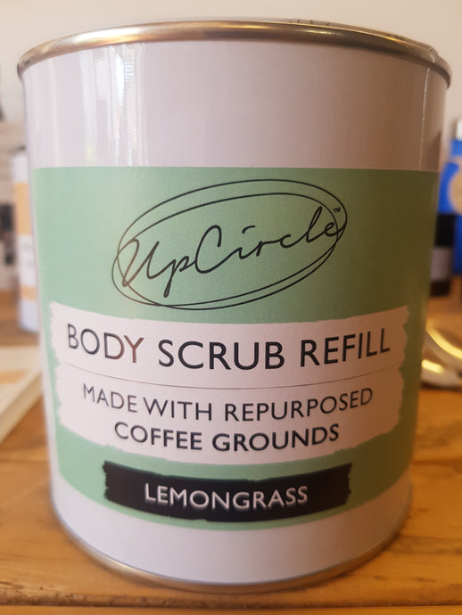 UpCircle Coffee Body Scrub with Lemongrass