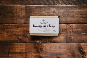 Lemongrass and Hemp Bath Soap