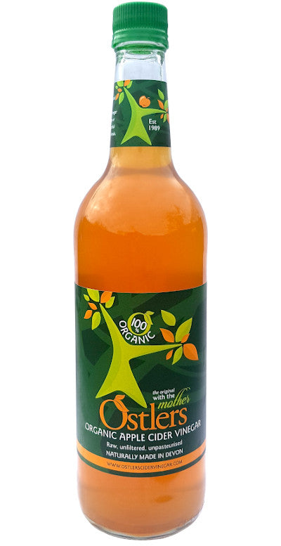 Ostlers Organic Apple Cider Vinegar - Home Delivery