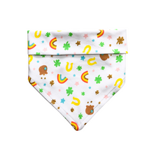 Load image into Gallery viewer, You're My Lucky Charm Soft Bandana - Pet Musings