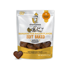Bananas for Bacon Soft Baked Dog Treats - Pet Musings