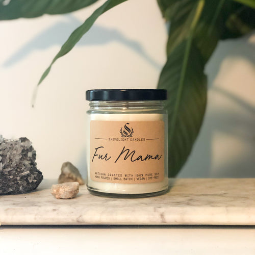 Fur Mama Candle - Pet Musings