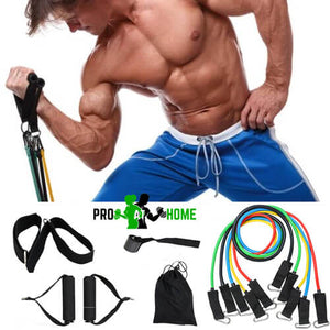 Pro Resistance Band Set (11 Pcs)