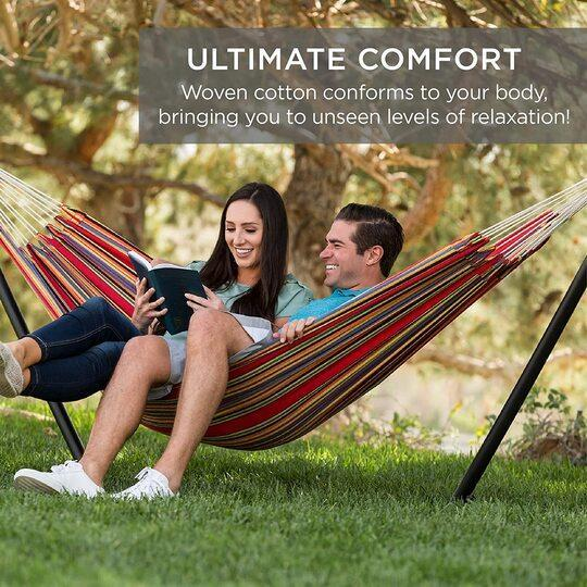 Ultimate Comfortable Leisure Hammock Come With Stand [FREE SHIPPING]