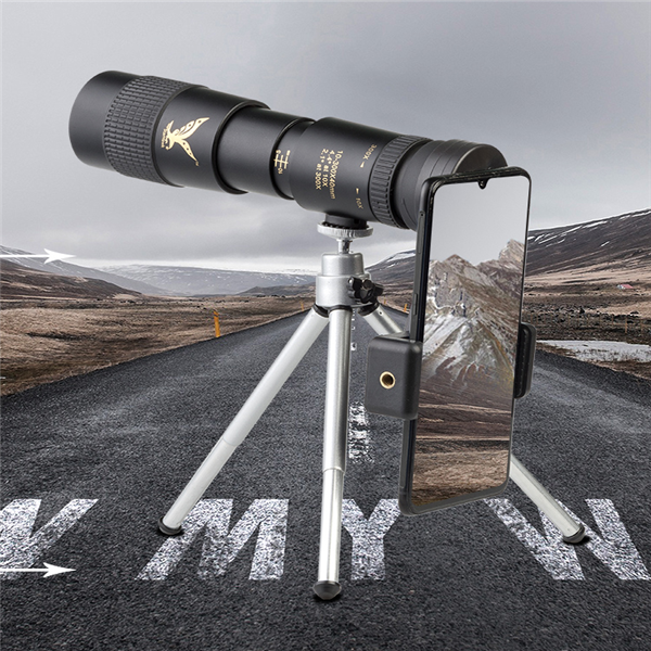 4K 10-300X40mm Super Telephoto Zoom Monocular Telescope (Released in July 2020) [FREE SHIPPING]
