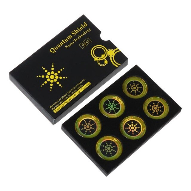 Anti-Radiation Stickers (1 Set with 6x Stickers)