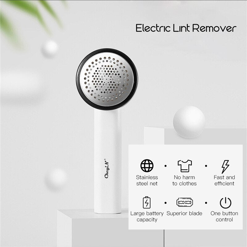 RECHARGEABLE DEFUZZER/FUZZ PILL BALL REMOVER