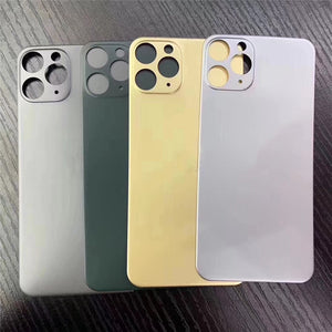 Glass film behind iphone to protect lens and glass
