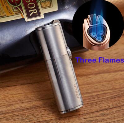 Powerful and Windproof Triple Jet Torch